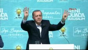 Erdoğan: Teslim olmak var mı?