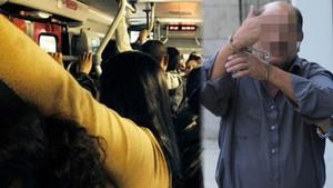 Genç kızı elle taciz etti, gözaltına alındı