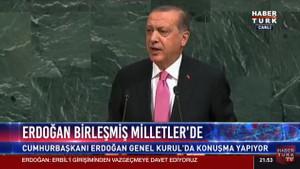 BM'de konuşan Erdoğan'dan Barzani'ye: Bağımsızlık talepleri çatışmaya neden olur