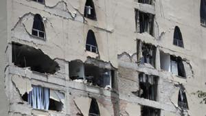 Meksika'daki depremden korkunç görüntüler