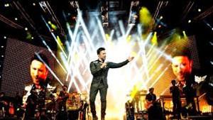 Megastar Tarkan Harbiye konserinde işte böyle dans etti