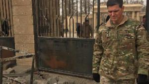Rakka'da konuşan CENTCOM Komutanı Votel: Savaş tamamlandı fakat işimiz bitmedi
