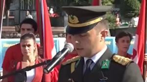 Şehit Piyade Üstteğmen Oğuz Kaan Usta'nın 30 Ağustos konuşması
