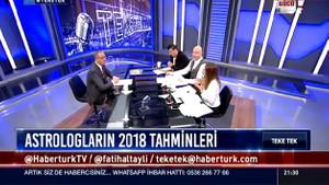 2018 falı Fatih Altaylı'ya fenalık getirdi