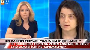 İki çocuğu öldürülen Dilek Çakır ilk kez konuştu