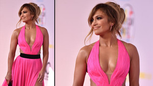 Amerikan Müzik Ödülleri'ne Jennifer Lopez'in kusuru damga vurdu