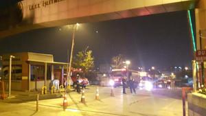 Son dakika: İkitelli İETT Garajında yangın paniği