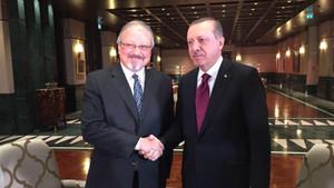 Cemal Kaşıkçı'nın nişanlısı Cumhurbaşkanı Erdoğan'ın fotoğrafını paylaştı