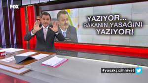 FOX Haber'e skandal yasak! Fatih Portakal'dan Bakan Pakdemirli'ye sert tepki: Neden korkuyorsunuz?