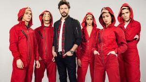 2018'in en iyi drama dizisi La Casa de Papel: Profesör 12'den vurdu