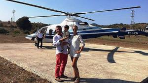 CHP'li Battal İlgezdi'ye Ağaoğlu helikopteri davası