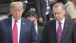 Son dakika: Trump Erdoğan ile yapacağı görüşmeyi de iptal etti
