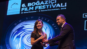Boğaziçi'nden İpek Türktan'a En İyi Kadın Oyuncu ödülü