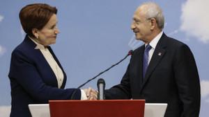 Kılıçdaroğlu ve Akşener'den ittifak açıklaması