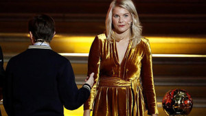 Yılın Kadın Futbolcusu Ada Hegerberg'e skandal soru: Twerk Yapar mısın?