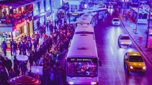 Ankara'daki otobüs sırası fotoğrafı İstanbulluları kıskandırdı