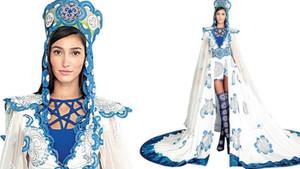 Miss Turkey 2018 güzeli Şevval Şahin, yarışmada 2 farklı tasarım giyecek