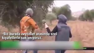 Rus kanalı ortaya çıkardı! Afrin'de YPG'li teröristler saklanmak için...