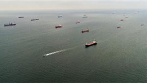Marmara Denizi'ndeki hayalet gemiler böyle görüntülendi