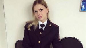 Rusya'nın kadın polisleri sosyal medyayı salladı