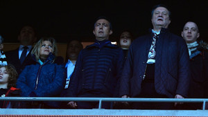 Ali Koç Beşiktaş Fenerbahçe maçını Rahmi Bey'in locasında izledi