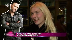Aleyna Tilkii Tarkan ile ilgili hislerini açıkladı!