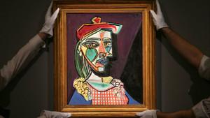 Picasso'nun Altın Meşe tablosu 70 milyon dolara satıldı
