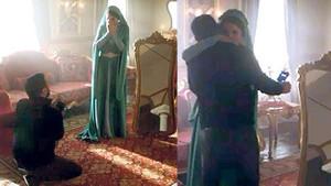 Alişan, Buse Varol'a diz çöküp evlilik teklif etti