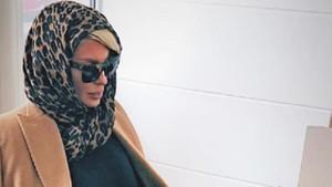 Beşiktaş'ın yengesi Jelena başını örttü, görenler şaştı kaldı