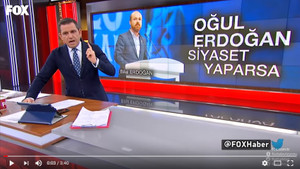 Fatih Portakal'dan Bilal Erdoğan'a tepki
