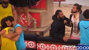 Survivor 19. bölüm tanıtımında Nihat ve Hakan'ı zor ayırdılar