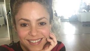 Shakira'nın makyajsız haline bakın