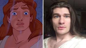 Kilo verince Disney prensine benzeyen genç sosyal medyanın yeni gözdesi