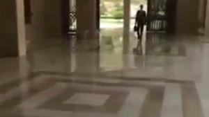 ABD saldırısının ardından Esad'dan ilk görüntü