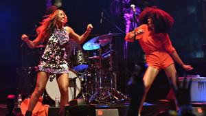 Beyonce'den olay yaratan dans gösterisi