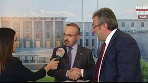 Canlı yayına damga vuran AKP CHP restleşmesi