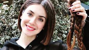 Fulya Zenginer kanser hastası kadınlar için saçlarını bağışladı