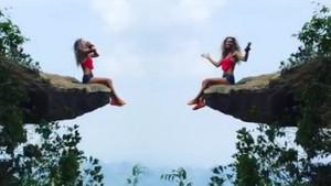 Leyla Bilginel'den tehlikeli tırmanış!