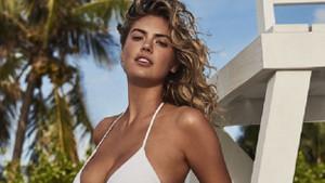 Kate Upton bikinisiz çıkmıyor