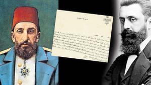 Siyonizmin kurucusu Theodor Herzl'in Abdülhamid'e gönderdiği mektup ortaya çıktı