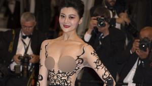 2018 Cannes Film Festivali kırmızı halısında protesto