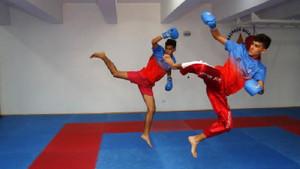 İkiz kick boksçuların tek korkusu rakip olmak