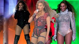 Beyonce turneye çıktı, 3 saatte 10 kıyafet değiştirdi