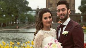 Sinem Gündoğdu ile evli Hakan Çalhanoğlu Brezilyalı güzelle yakalandı