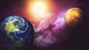 Kızıl gezegen Mars Dünya'ya en yakın konuma geliyor