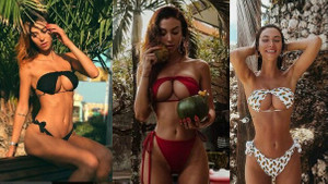 Yeni moda akımı bikini üstünü ters giyip sosyal medyayı salladılar!