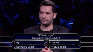Flaş: Kim Milyoner Olmak İster yarışmasında soruldu: Kirlikartopu hangisinin diğer adıdır?