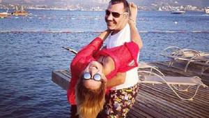 Nagihan Karadere Ramiz Özbay ile doludizgin aşk yaşıyor