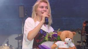 Aleyna Tilki'nin konserine çocuklar akın etti