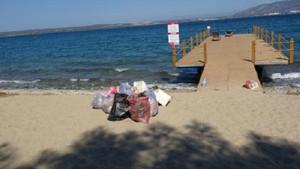 Dünya Çöp Toplama Günü'nde Didim'de temizlik